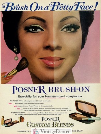 1960s makeup beauty products