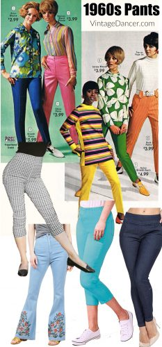 1960s  70s Pants Jeans Flares Bell Bottoms