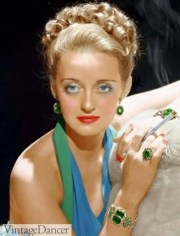 1940s jewelry styles and history