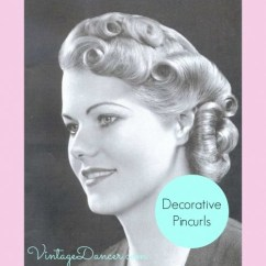Vintage Pin Curls Diagram Door Access Control System Wiring 1930 Curl Hairstyle Schematic Create Easy Hairstyles 1920s Could Also Be Utilised In A Final