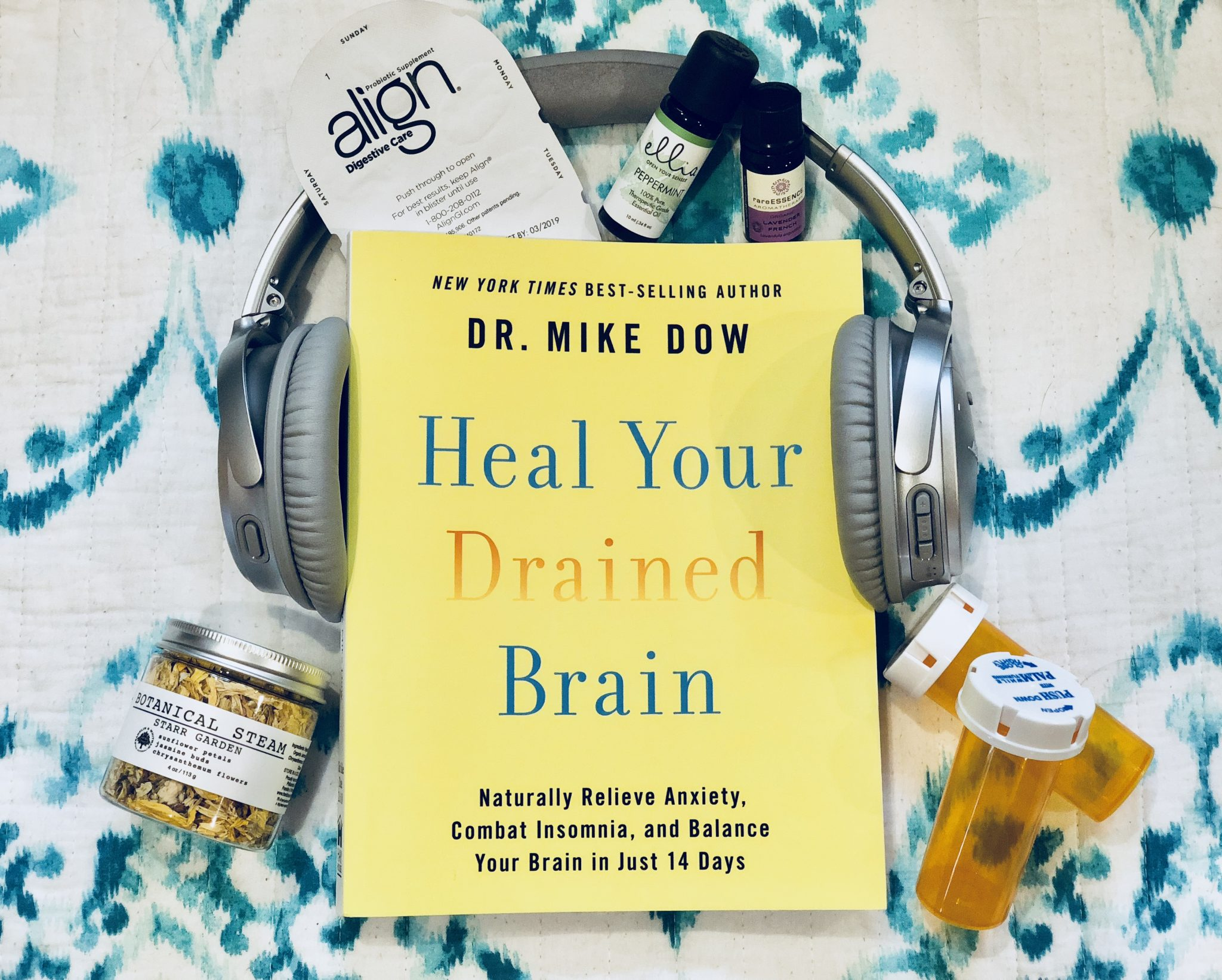 Combat Insomnia and Balance Your Brain in Just 14 Days Naturally Relieve Anxiety Heal Your Drained Brain