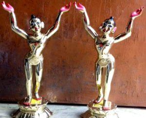 Gaura Nitai Metal Asthadhatu Original