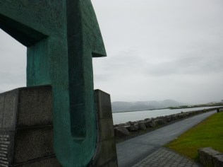 another sculpture along the waterfront