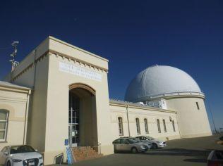 the Main Building and Great Lick Refractor Dome from outside