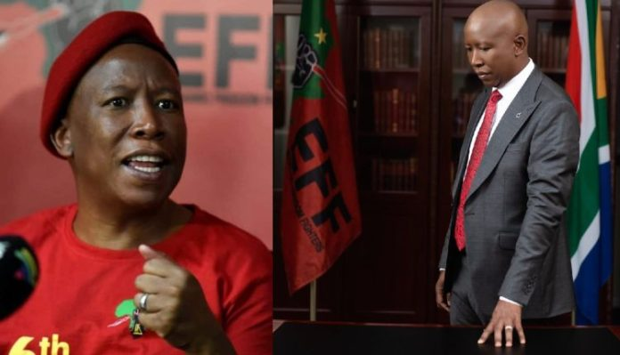 Full Julius Malema Speech as EFF celebrates 7th birthday