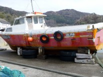 """Dry Dock"" at Gairloch"