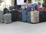 NEVER leave luggage unattended -the constant public announcement.