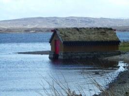 Norwegian style Boat House.