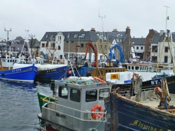 One part of Stornoway Harbour