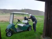 Must protect the clubs from the hailstones.