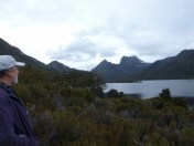 Cradle Mountain in the distance
