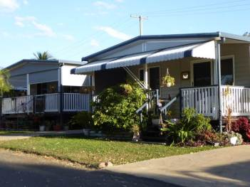 A long term Park resident's home.