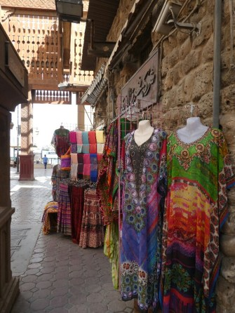 Beautiful clothes in the market
