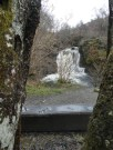 Many bottoms have sat on this bench so people could enjoy the Falloch Falls,