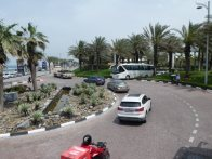 Roundabout with water feature - Jaumeirah