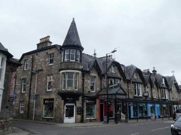 Pitlochry, main street