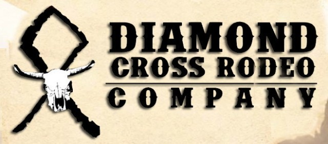 Diamond Cross Rodeo Banner