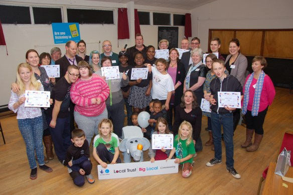 Radstock and Westfield Big Local Dragons Den winners