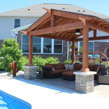 Covered Outdoor Living Spaces Custom