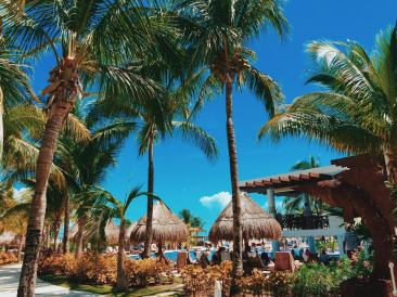 The grounds at Excellence Playa Mujeres