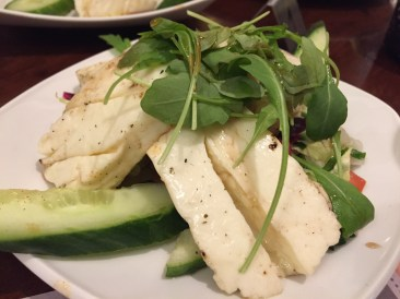 Char grilled Halloumi cheese