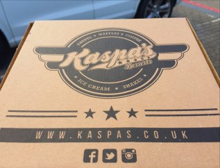 Kaspas takeaway dessert restaurant review