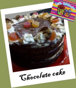 tarta, torta chocolates