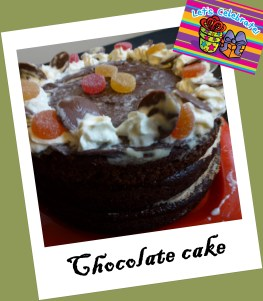 tarta, torta chocolates