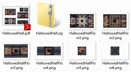 The download includes Roll20-friendly PNG layers