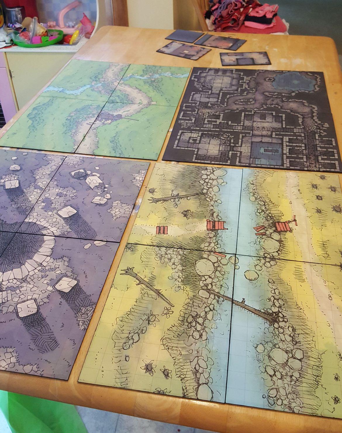 Battle Map Prints