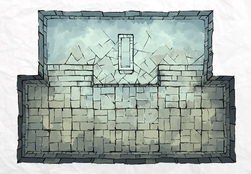 Dungeon Icy Tomb
