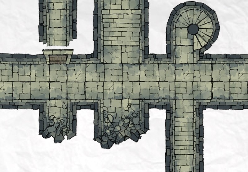 Dungeon Passages Mock-up
