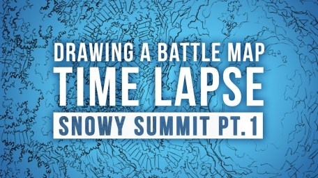 Snowy Summit Battle Map Time Lapse Video Pt.1 Thumbnail