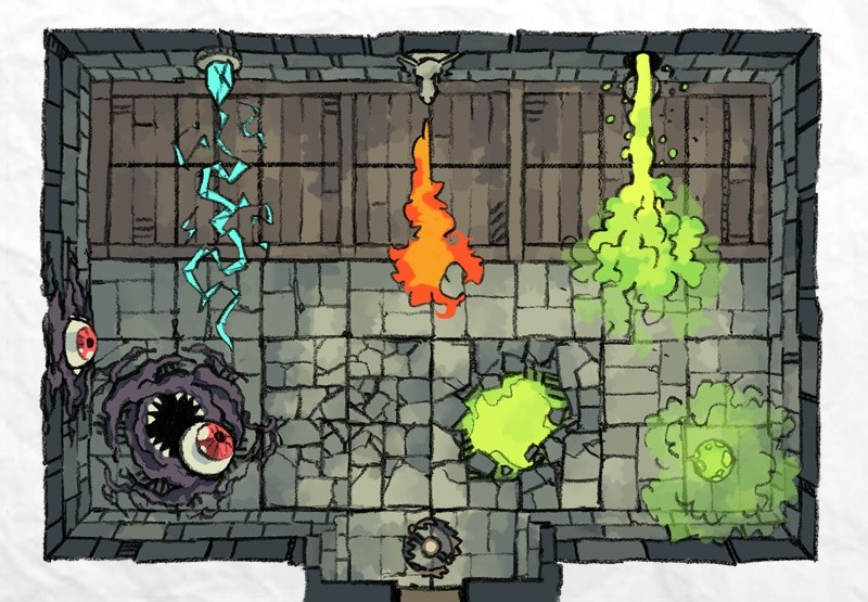 Dungeon Trap Tokens, preview 1