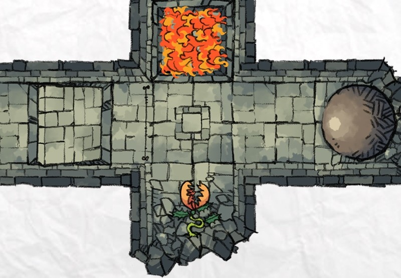 Dungeon Trap Tokens, preview 3