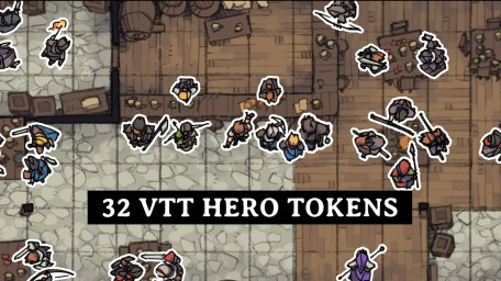 Hero Tokens, VTT Tavern Preview Banner