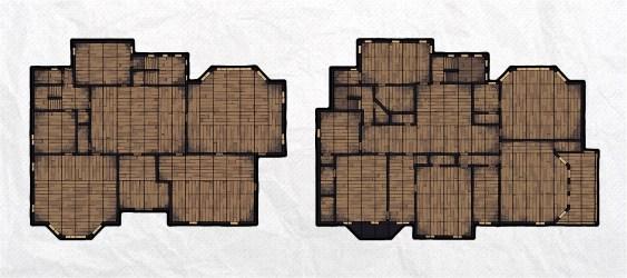 D&d Cottage Map