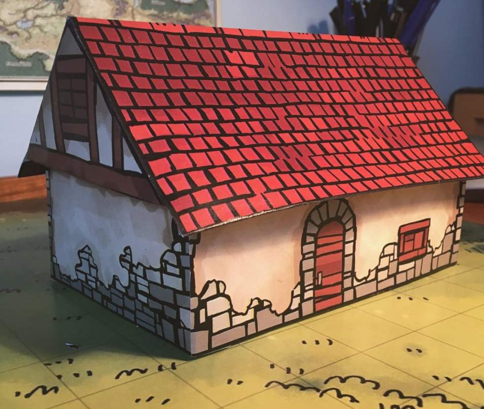 Papercraft House