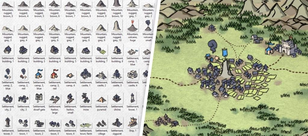 Wonderdraft Map Icons, banner