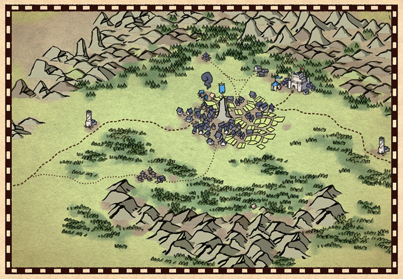 Wonderdraft Map Icons, demonstration