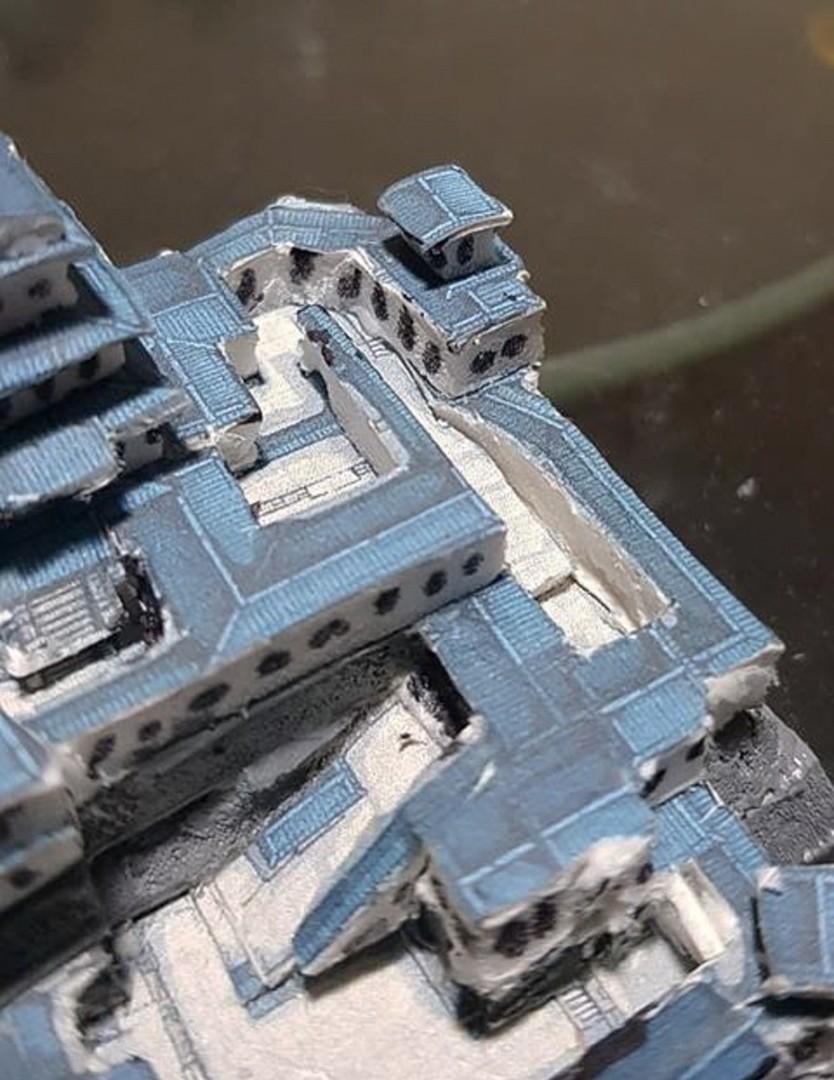 Japanese Samurai Castle Battle Map Model 7