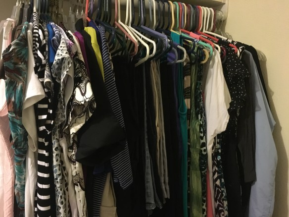 67 items of clothing