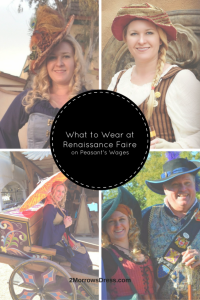 What to Wear at Renaissance Faire on Peasant's Wages