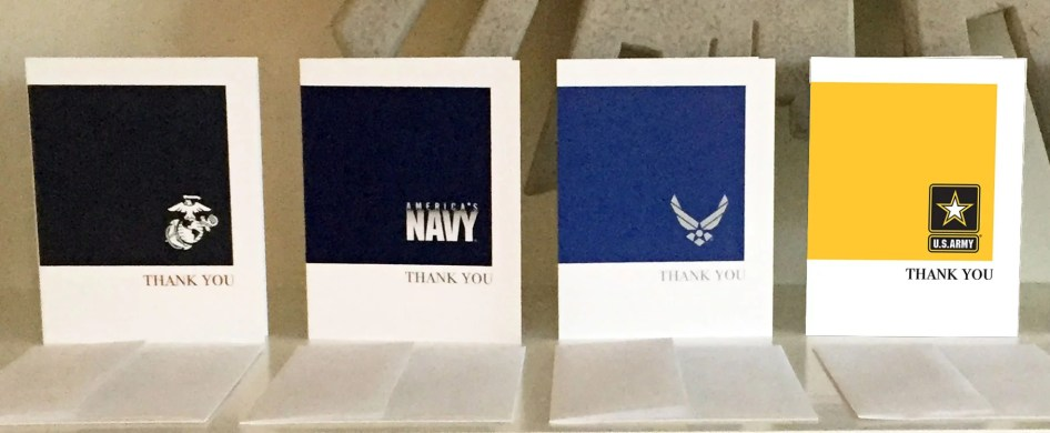 2MyHero military greeting cards sold at Kards Unlimited, Pittsburgh, PA
