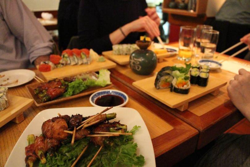 Dinner at Takahachi