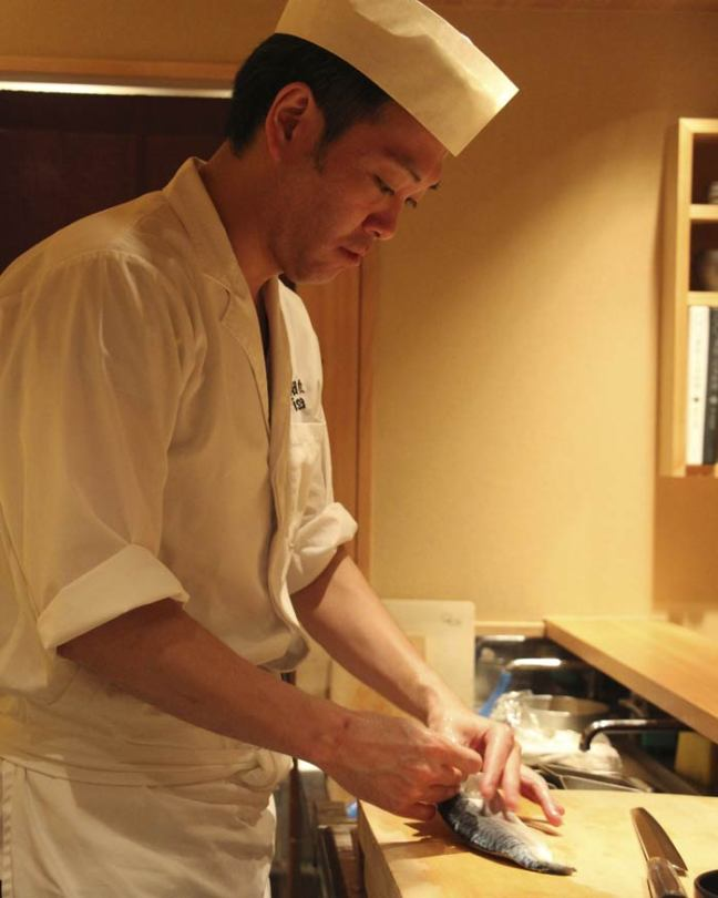 Junichi: the chef of the Isana