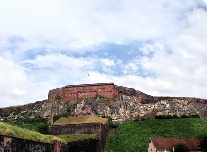 The citadel of Belfort