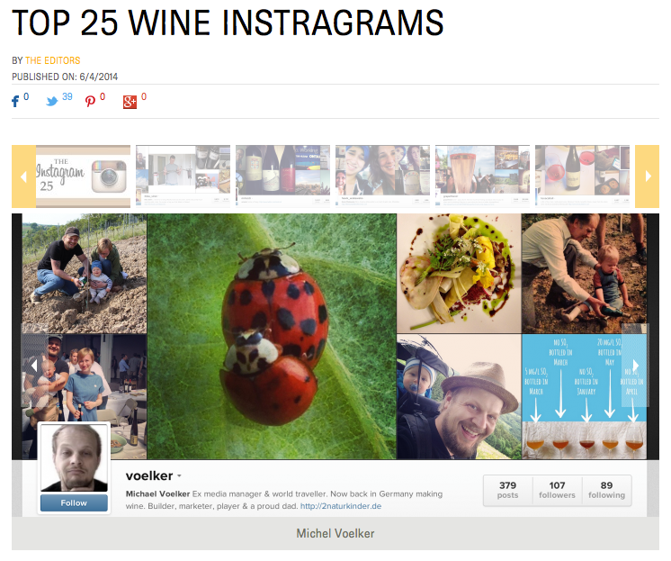#25 wine Instagrams