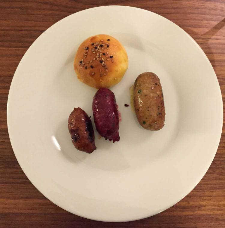 3 kinds of awesome sausages