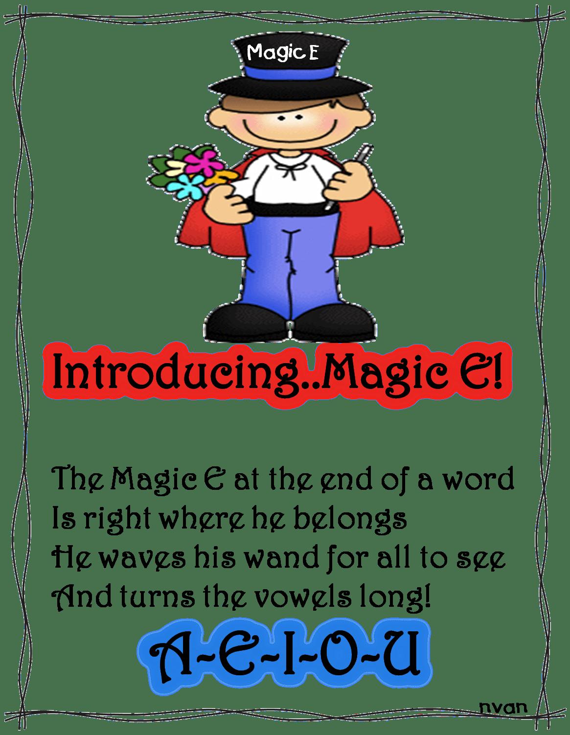 The Magic E